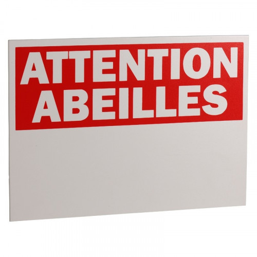 Panneau Attention Abeilles