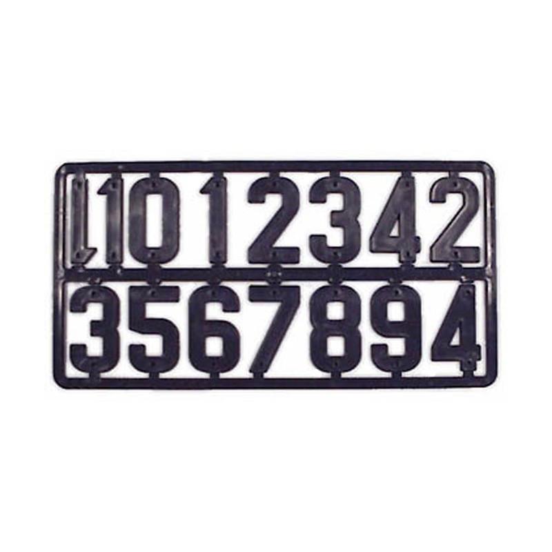 Plaque de chiffres pour...