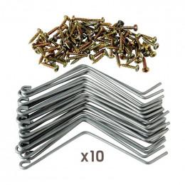 300 fixe-éléments avec vis