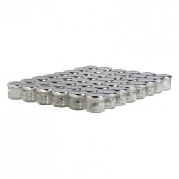 48 pots verre 30g (32 ml) avec couvercle TO 43