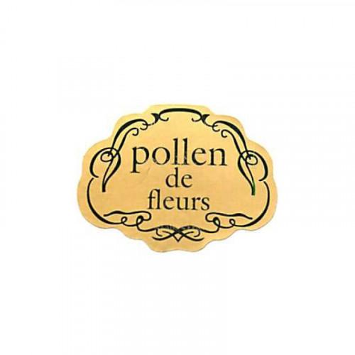 """100 étiquettes """"Pollen de fleurs"""""""