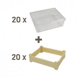 Pack miel en rayon grand modèle (105x130)