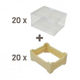 Pack miel en rayon petit modèle (65x84)