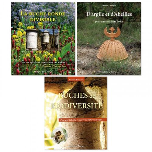 3 livres sur l'apiculture écologique