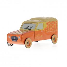 """Fourgon Renault 4L miniature """"Miel de fleurs"""""""