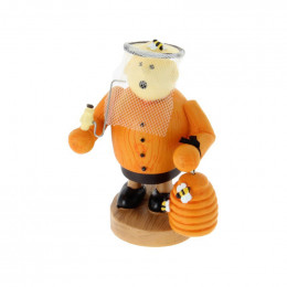 Figurine Apiculteur Orange 10,5 cm