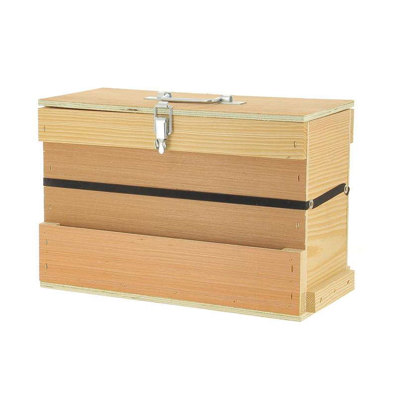 Caisse à outils en bois
