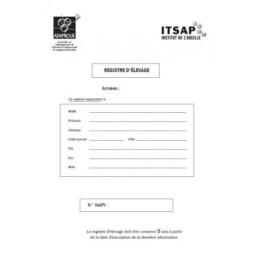 Registre d'élevage ITSAP