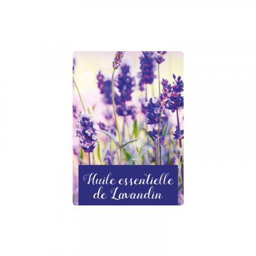 """100 étiquettes """"Huile essentielle de Lavandin"""""""