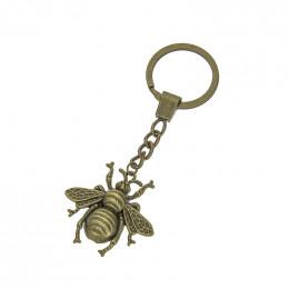 Porte-clés Abeille bronze