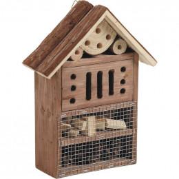 Hôtel à insectes bois 29 cm