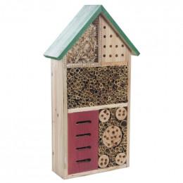 Hôtel à insectes bois 49 cm