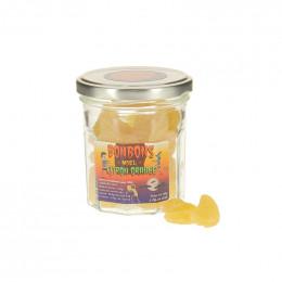 Mélange de bonbons citron orange