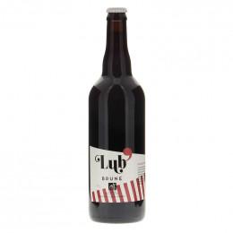 Bière brune Lub' 75 cl