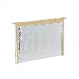 Partition isolante aluminium cadre Dadant