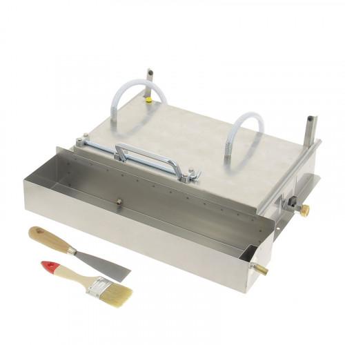 Gaufrier à cire refroidissement par eau (cellules mâles)