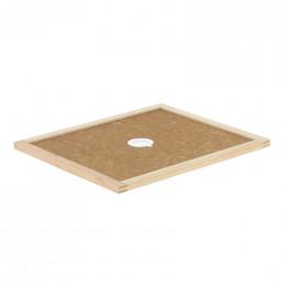 Couvre-cadres bois avec trou central pour Dadant 10 cadres
