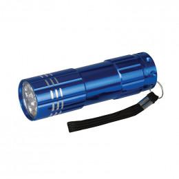 Mini lampe torche aluminium leds