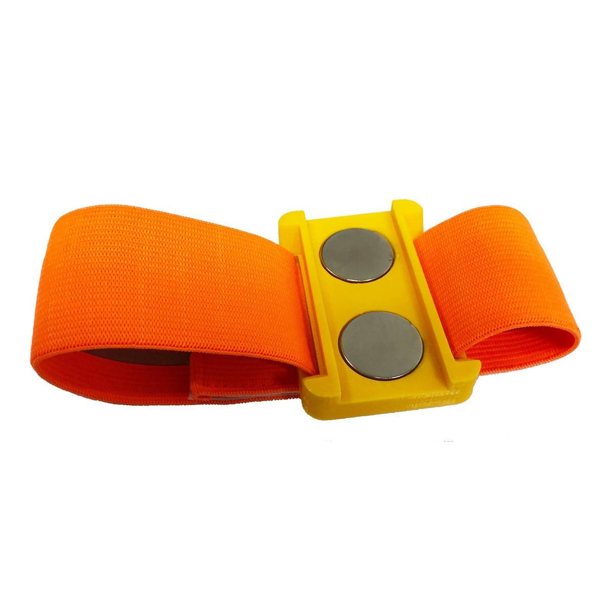 Bracelet aimanté jaune 25 mm
