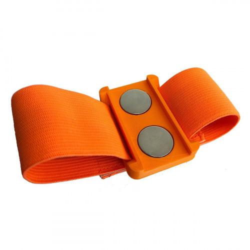Bracelet aimanté orange 27 mm