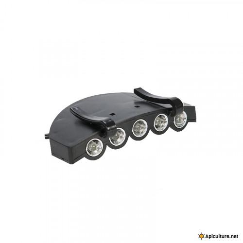 Lampe pour visière LED