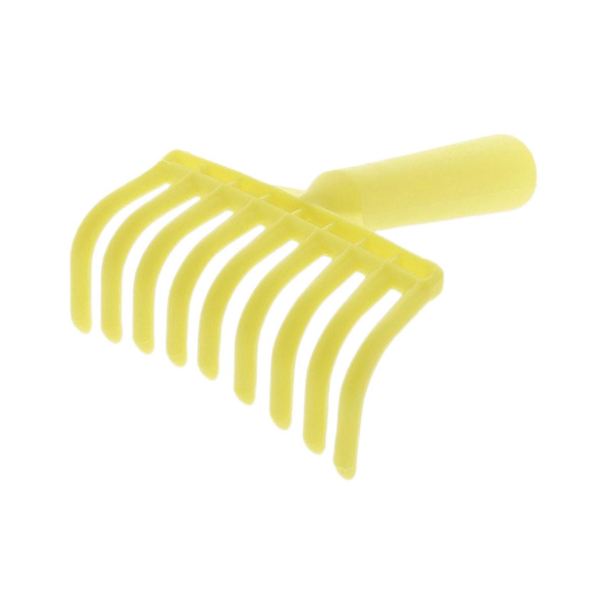 Peigne à olives 9 dents jaune