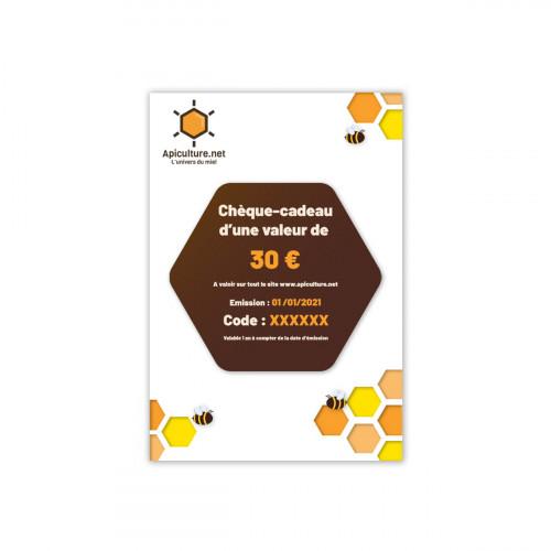 Chèque-cadeau 30€