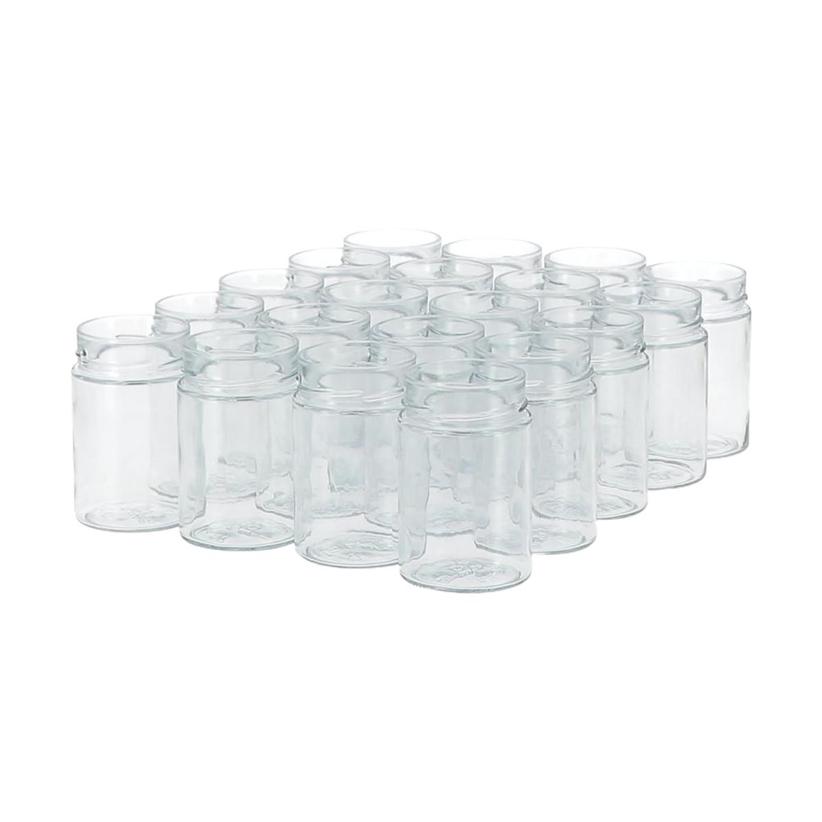 20 pots verre 500 g...