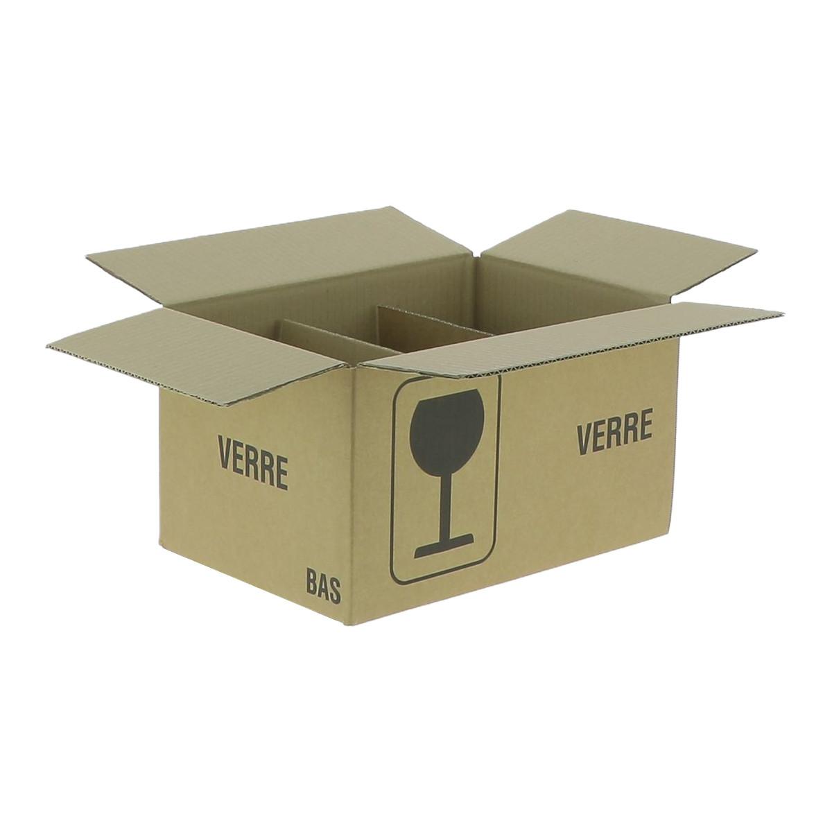 Carton pour 6 pots de 1 kg...