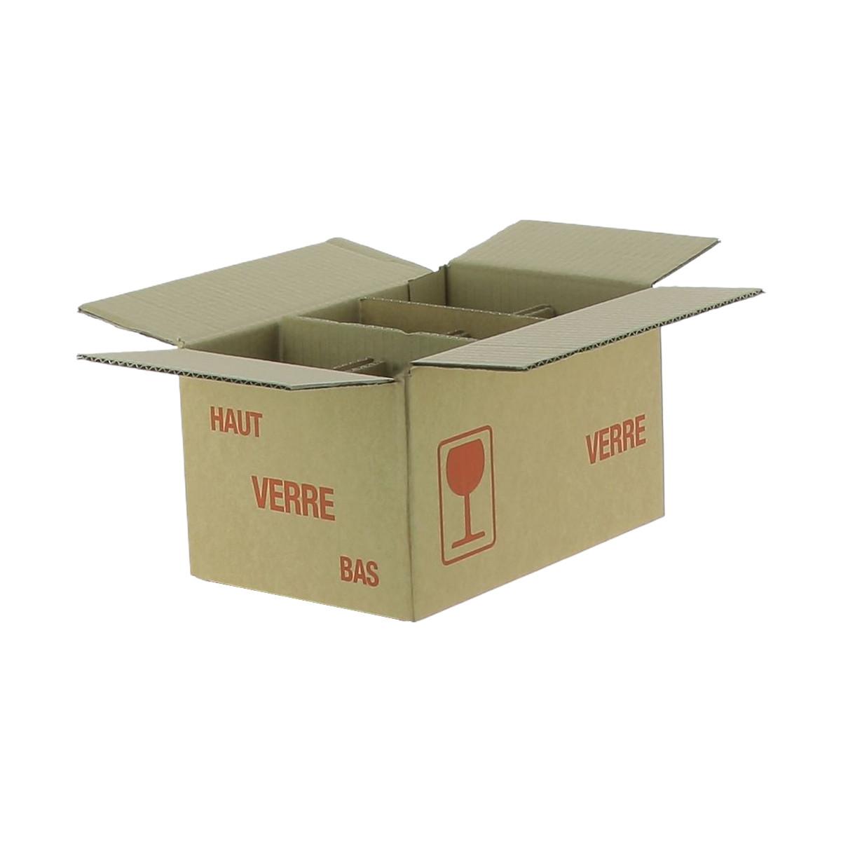 Carton pour 6 pots de 500 g...