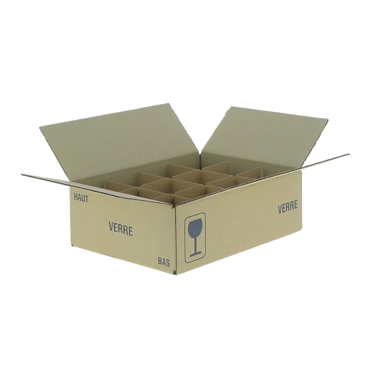 Carton pour 12 pots de 250...