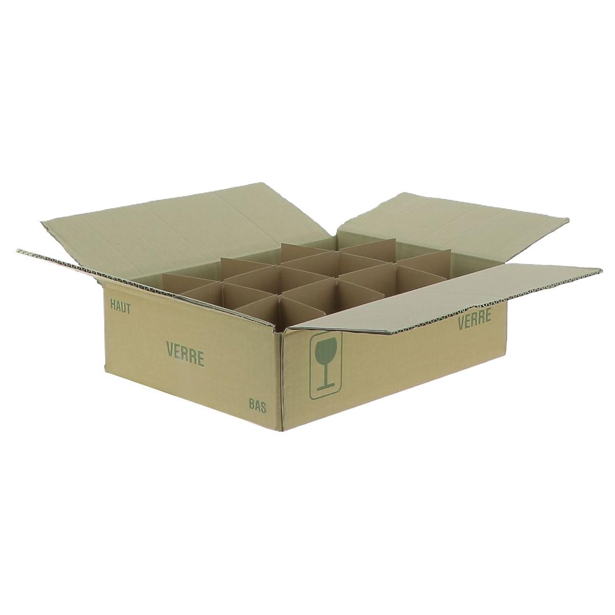 Carton pour 12 pots de 500...