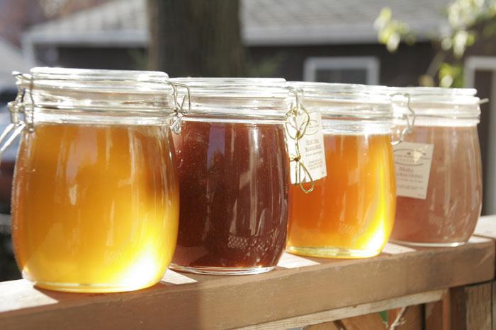 Les types de miel