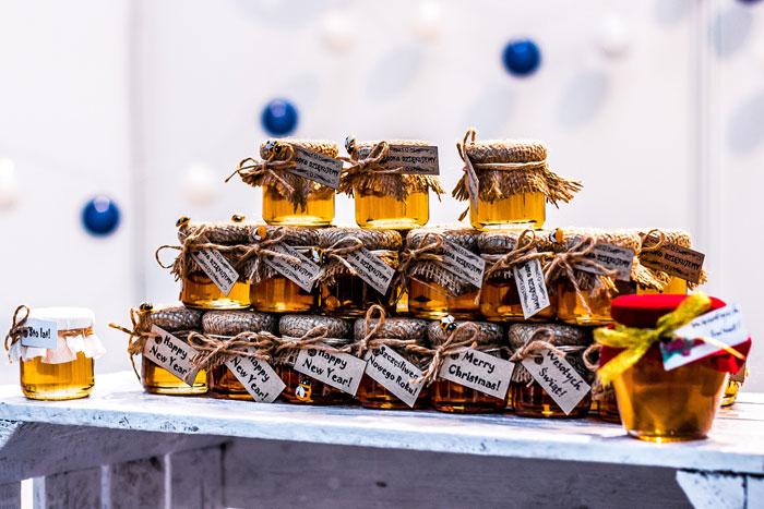 Bocaux de miel