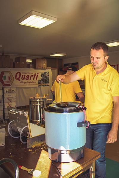 Atelier gaufrage de cire