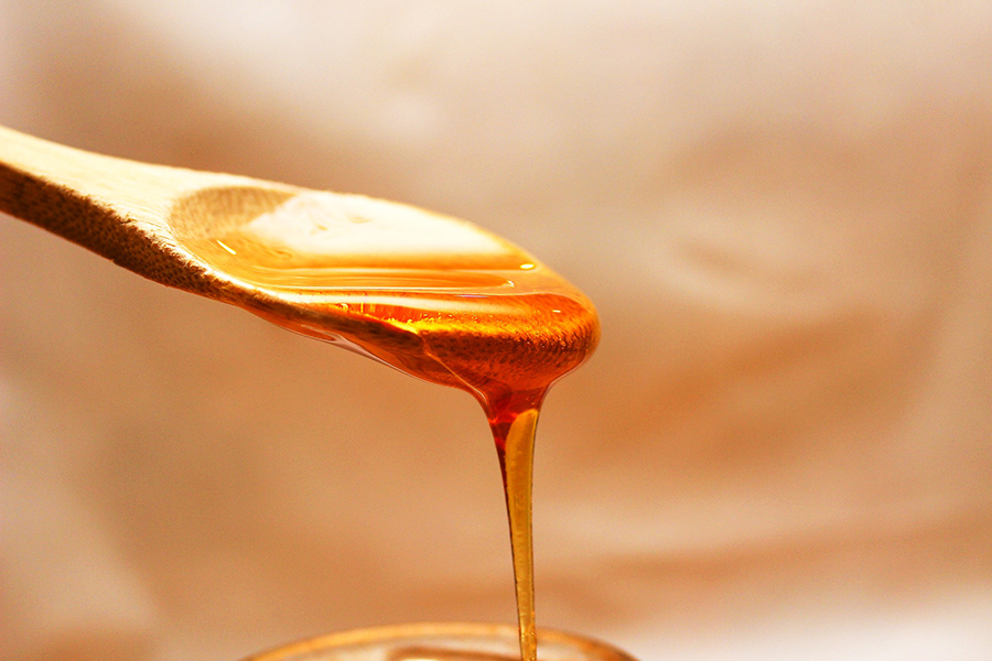 Cuillère de miel