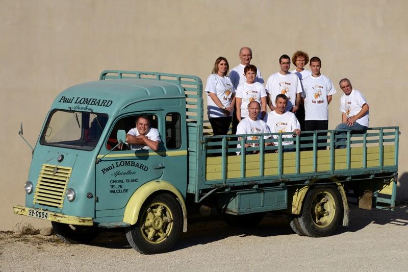 L'équipe de Luberon Apiculture